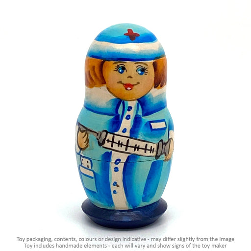 Nurse - Blue / 5 pc / 10 cm