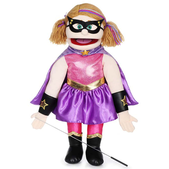 Superhero Girl - 25 inch / Peach
