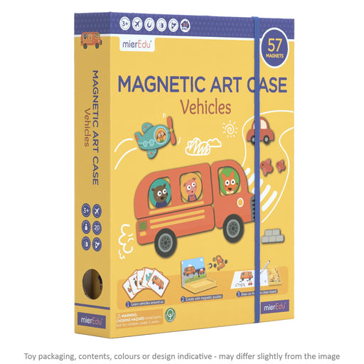 Magnetic Art Case - Vehicles / 2021