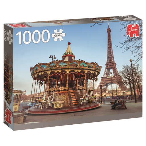 1000 Piece Puzzle - Paris, France