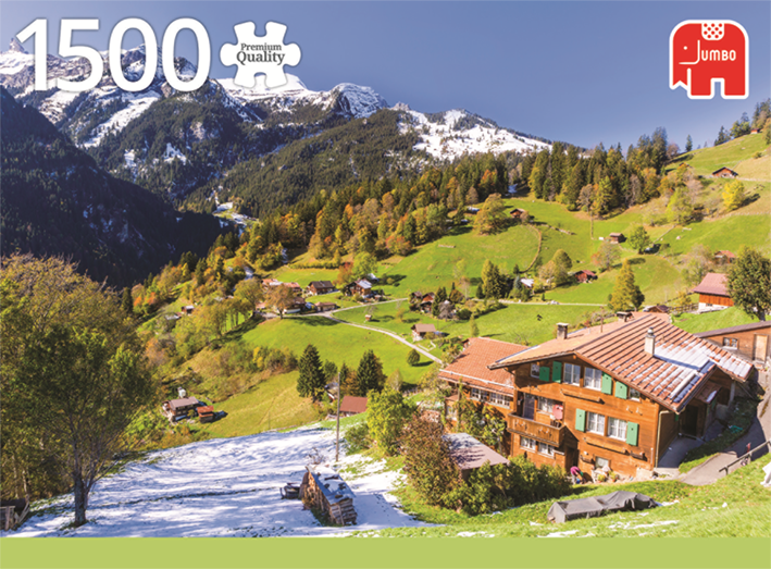 1500 Piece Puzzle - Bernese Oberland, Switzerland
