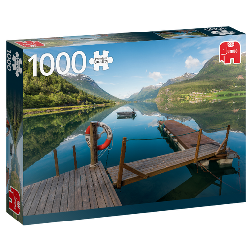 1000 Piece Puzzle - Styrn, Norway