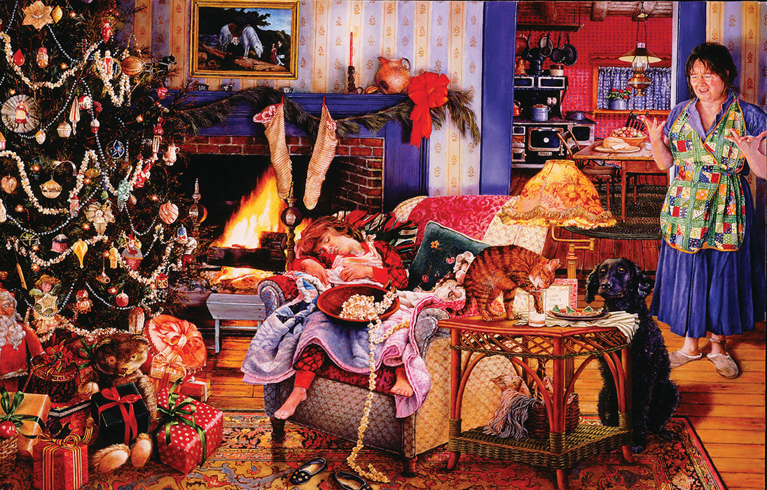 1000 Piece Puzzle - Christmas Thieves