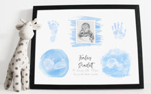 Load image into Gallery viewer, A3 Baby keepsake print