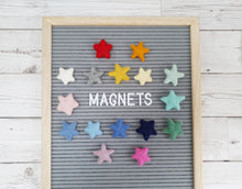 Load image into Gallery viewer, Felt Star Magnets