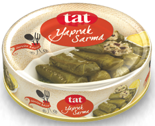TAT STUFFED GRAPE LEAVES CAN / HAZIR YEMEK YAPRAK SARMA 12X190 GR