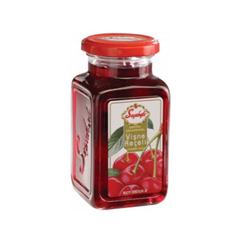 SEYIDOGLU SOUR CHERRY JAM - GLASS JAR 12X380 GR