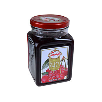 SEYIDOGLU SOUR CHERRY JAM - GLASS JAR 6X1700GR