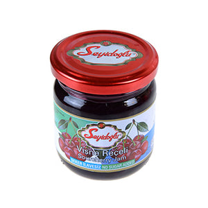 SEYIDOGLU DIABETIC SOURCHERRY JAM GLASS JAR 12X240 GR