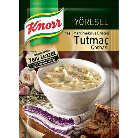 KNORR TRADITIONAL TUTMAC SOUP/ YORESEL TUTMAC CORBA 12X 118 GR