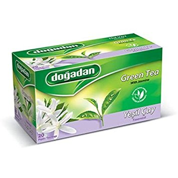 DOGADAN YESILCAY YASEMIN - GREEN TEA with JASMIN 12X20GR