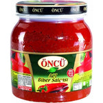 ONCU ACI BIBER SALCASI - HOT PEPPER PASTE  6X1650 GR