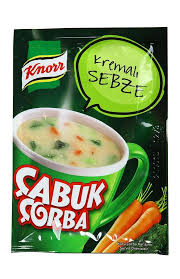 KNORR CABUK CORBA KREMALI SEBZE / CUP VEGETABLE SOUP WITH CREAM 24X18 GR
