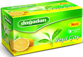 DOGADAN LIMONLU YESILCAY -GREEN TEA with LEMON 12X20GR