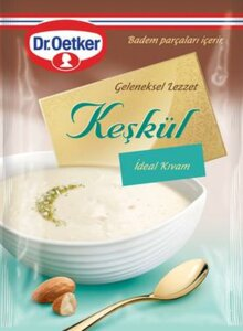 DR OETKER MILK PUDDING WITH COCONUT - KESKUL 24X139 GR