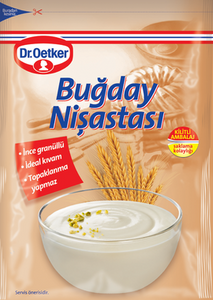 DR OETKER WHEAT STARCH - BUGDAY NISASTASI 12X150 GR.