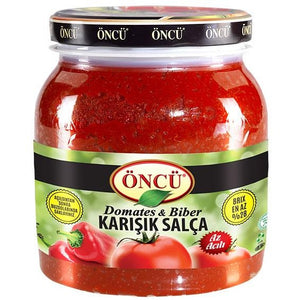 ONCU TOMATO&PEPPER MIXED PASTE 6X1650 GR