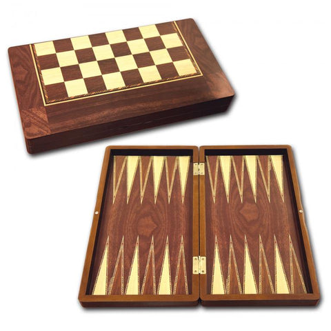 STAR TAVLA (BACKGAMMON BOARD SET) WOOD