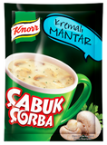 KNORR CUP MUSHROOM SOUP WITH CREAM/ CABUK CORBA KREMALI MANTAR 24X19 GR.