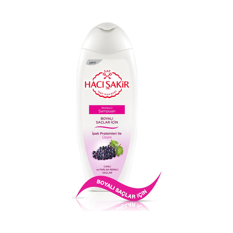 HACI SAKIR SHAMPOO WITH GRAPES -UZUMLU SAMPUAN 12X500 ML