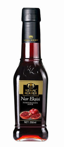 KEMAL KUKRER POMEGRANATE SAUCE %100 GLASS  -NAR EKSISI %100 CAM 12X250ML