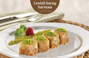 FARUK GULLU SARAY SARMA WITH WALNUTS 5.5 LB