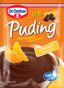 DR OETKER PUDDING CHOCOLATE-ORANGE 24X125 GR