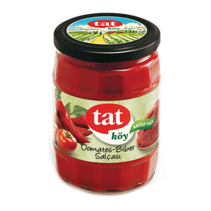 TAT TOMATO AND PAPPER PASTE  12X580 ML