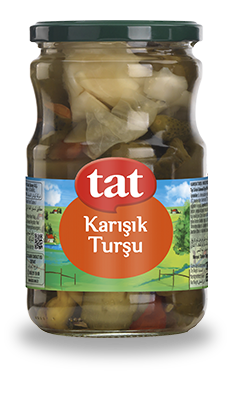 TAT MIXED PICKLES / KARISIK TURSU 12X720 ML