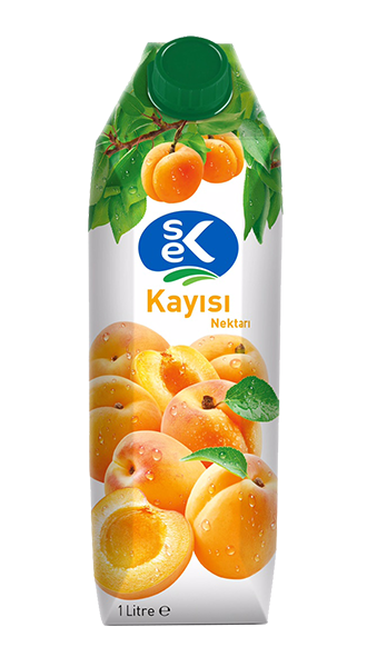 SEK FRUIT JUICE APRICOT / MEYVE SUYU KAYISI 12X1000 ML