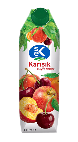 SEK FRUIT JUICE MIXED / KARISIK MEYVE SUYU 12X1000 ML