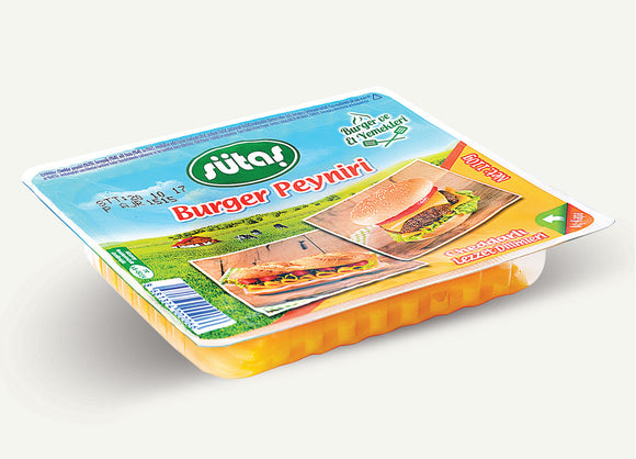SUTAS BURGER CHEESE 24X110 GR (346290)