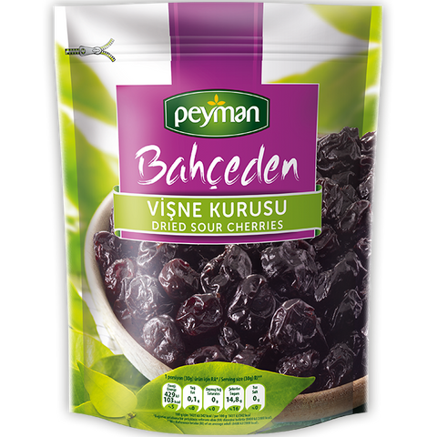 PEYMAN DRIED SOUR CHERRIES / VISNE KURUSU 12X150 GR