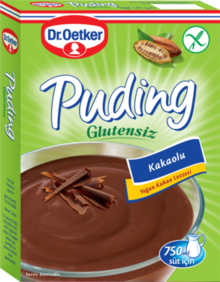 DR OETKER COCOA PUDDING GLUTEN FREE / GLUTENSIZ KAKAO PUDING 8X147 GR