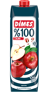 DIMES %100  APPLE JUICE / %100 ELMA SUYU 12X1 LT