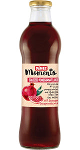 DIMES SQUEEZED POMEGRANATE JUICE GLASS BOTTLE / SIKMA NAR SUYU CAM SISE 6X700 ML