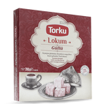 TORKU TURKISH DELIGHT W ROSE/GUL LOKUM 12X390 GR