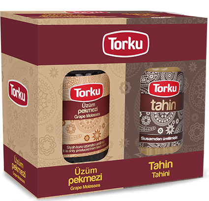 TORKU TAHINI AND MOLASSES (Twin Package) 6x750 G