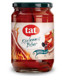 TAT GRILLED RED PEPPER JAR / KOZLENMIS BIBER 12X720 CC