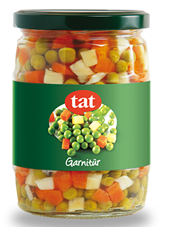 TAT GARNITURE JAR / GARNITUR KAVANOZ 12X580 GR