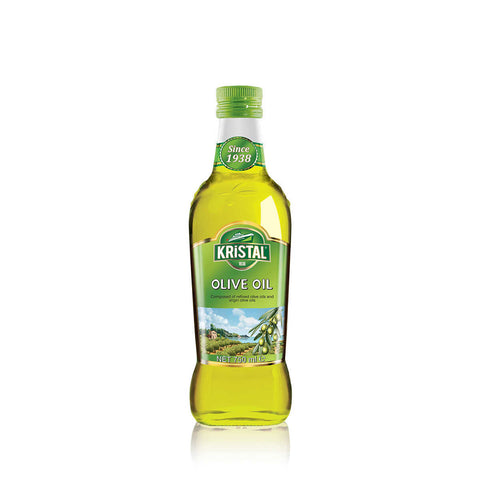 KRISTAL EXTRA VIRGIN OLIVE OIL GLASS BOTTLE (SMOOTH&FRESH) 6X750 ML