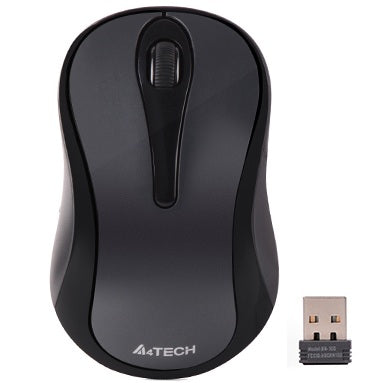 A4Tech G3-280N 2.4G Optical Wireless Mouse (Grey)