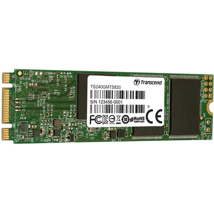 Transcend 480GB M.2 SATA III Double Cut Internal SSD (MTS820)