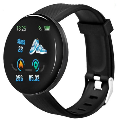 D18 Fitness Bracelet Blood Pressure Bluetooth Heart Rate Monitor