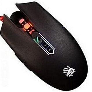 Bloody Q80 Metal Feet Neon X'Glide Gaming Mouse