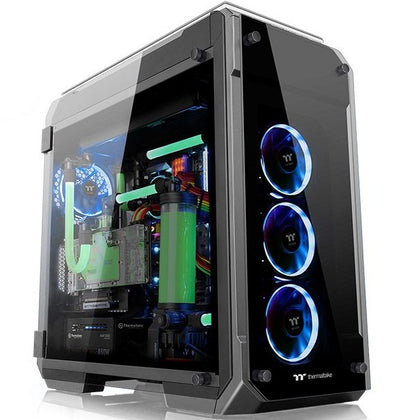 Thermaltake PC Tower Casing View 71 Tempered Glass Edition (CA-1I7-00F1WN-00)