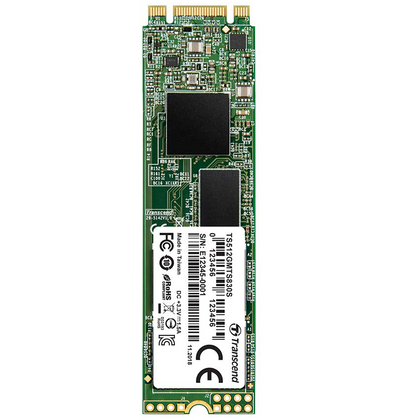 Transcend 512GB M.2 SATA III Double Cut Internal SSD (MTS830)