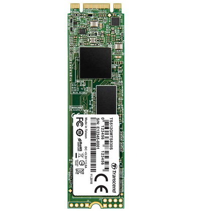 Transcend 256GB M.2 SATA III Double Cut Internal SSD (MTS830)