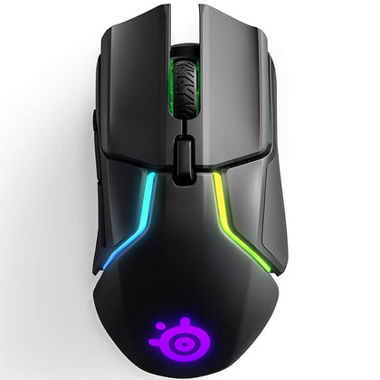 SteelSeries Rival 650 Wireless Gaming Mouse Truemove3+ Dual Optical Sensor - 62456