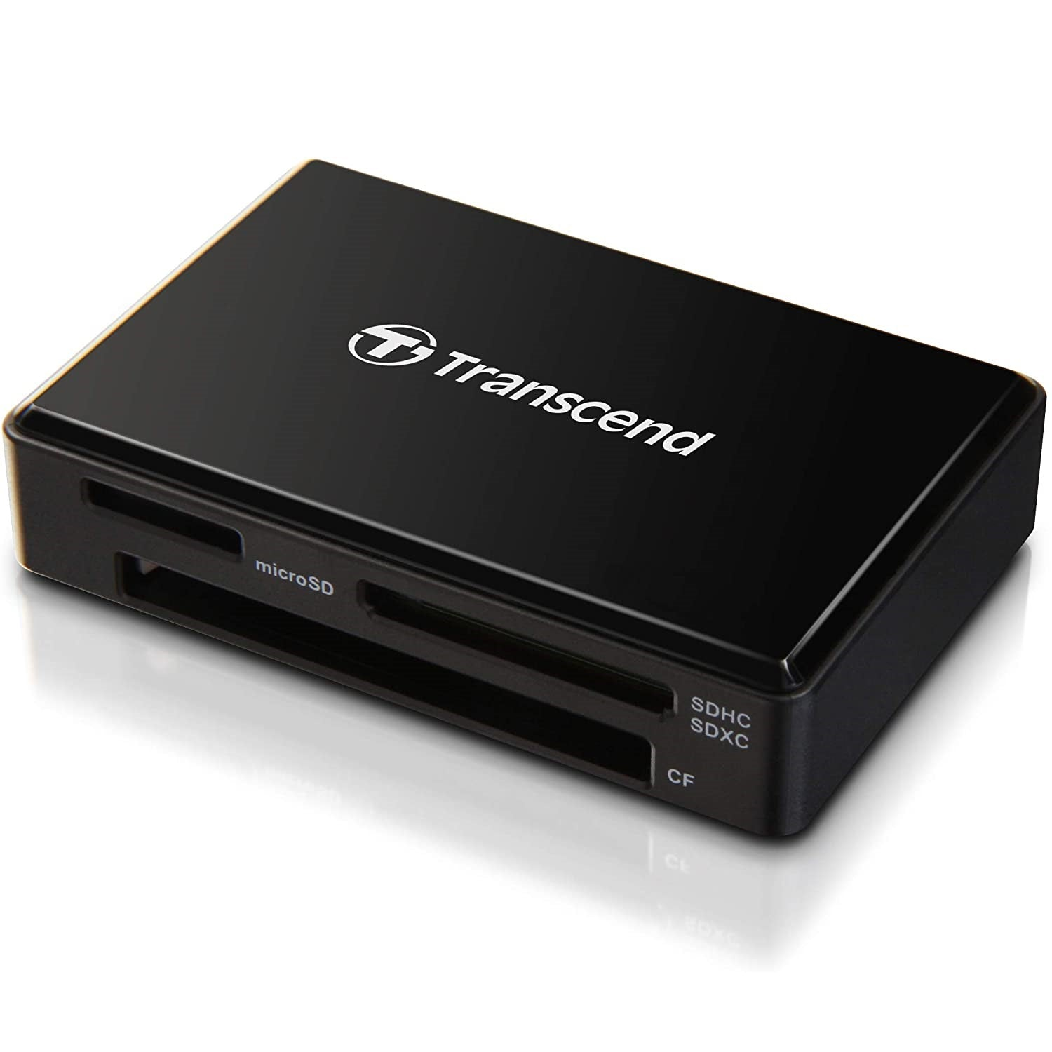 Transcend USB 3.0 Card Reader for SD/SDHC/SDXC/MS/CF (RDF8K)